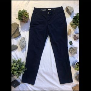 J. Crew Navy Chino Pant (Size 2)